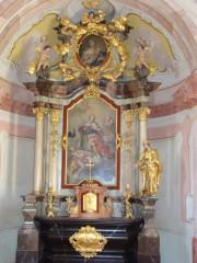 Oltář s obrazem sv. Víta