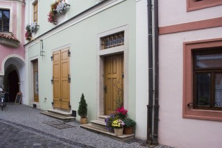 Třeboň - Březanova ulice