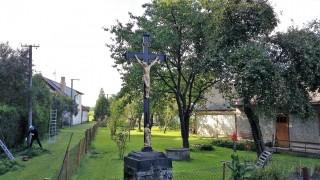 Kříž na okraji Nové Hliny