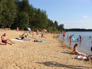Léto na pískovně