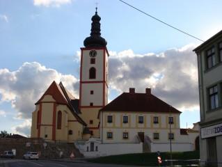 Kostel ve Veselí nad Lužnicí