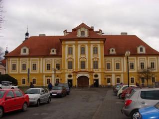 Infocentrum v Borovanech na zámku