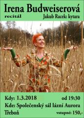 Irena Budweiserová a Jakub Racek - recitál