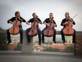 Prague Cello Quartet - 22.5. Schw.hrobka
