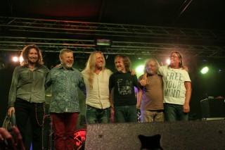 V Třeboni s kapelou Supergroup