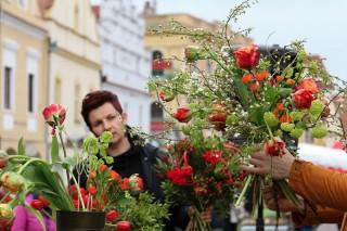 Floristé v Třeboni
