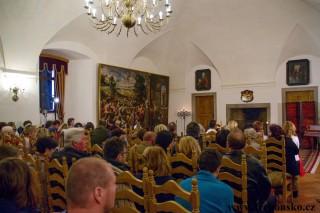 Zámek Třeboň - Schwarzenberský sál 6.4.2018