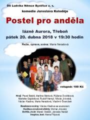 Postel pro anděla - pozvánka na divadlo do Aurory