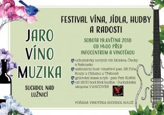 Festival vína v Suchdole nad L.