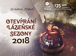 Otevírání lázeňské sezóny 2018 v Třeboni