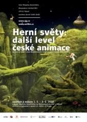 Herní světy: další level české animace - výstava