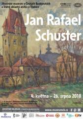 Jan Rafael Schuster - pozvánka na výstavu