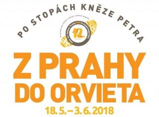 Cesta po stopách kněze Petra z Prahy do Orvieta 2018 a Třeboňsko