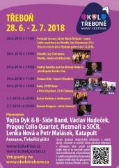 Okolo Třeboně 2018 - program