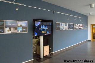 Foyer třeboňského divadla