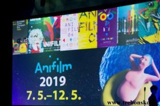 Anifilm 2019  Třeboň  7. - 12.5.  2019