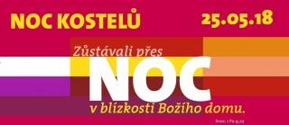 Noc kostelů 2018 v Třeboni