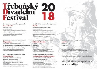 Třeboňský divadelní festival 2018