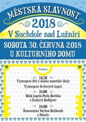 Městská slavnost 2018 v Suchdole n. L.