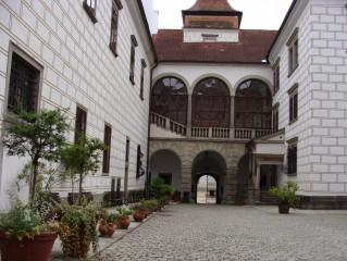 Malé nádvoří třeboňského zámku