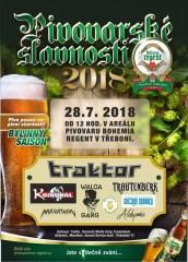 Pivovarské slavnosti 2018 v Třeboni