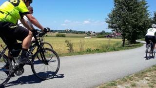 Cyklistický výlet z Třeboně na Jemčinu, Pecák, Lannův kříž