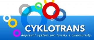 Cyklotrans  – z Třeboně až do Slavonic (dříve do Znojma)