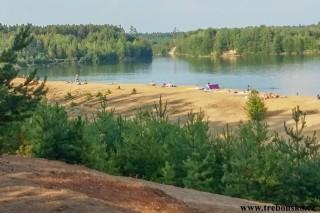 Na Cepskou pískovnu za koupáním - cyklotrasa z Třeboně