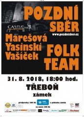 Castle tour 2018:  Pozdní sběr - Folk team