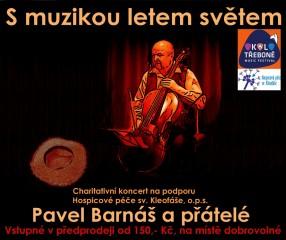 S muzikou letem světem - plakát