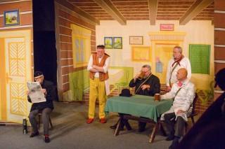 Hra Němý Bobeš v třeboňském divadle