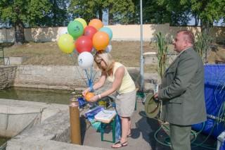 Balonek s Třeboňským kaprem pro každé dítě