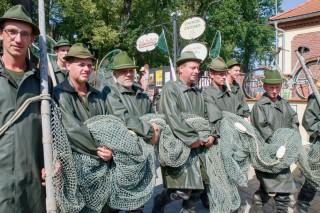 Třeboňští rybáři u Pěšárny
