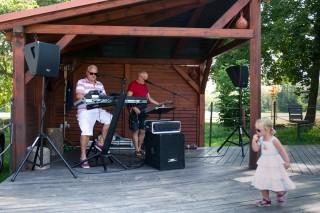 Kapela Zenit hrála návštěvníkům RS v sobotu i v neděli.