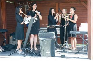 Rozeta, kvintet souboru Třeboňští pištci