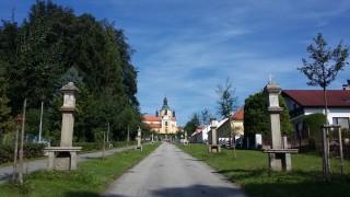 Chlum u Třeboně ve dne