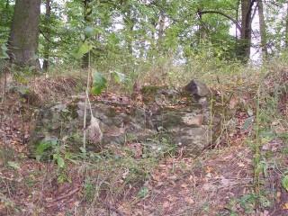 Flughaus - zbytky hradu