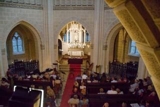Kaple Schwarzenberské hrobky: benefiční koncert muzikálových melodií
