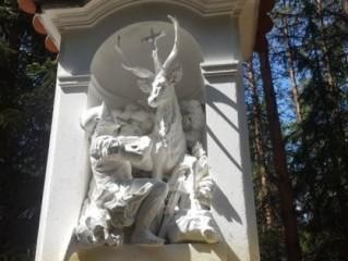 Setkání svatého Huberta s jelenem