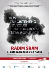 Pozvánka na přednášku R. Šráma