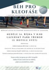 Běh pro Kleofáše - 14.10.