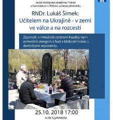 Přednáška o Ukrajině