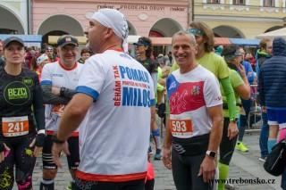 maratón poběží i Miloš Škorpil