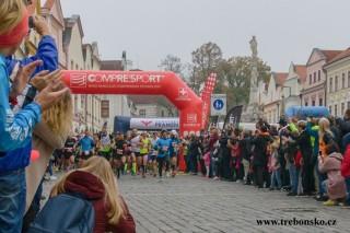 běžce čeká trať dlouhá  42,195 km!