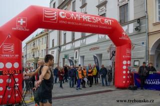 Příprava na start půlmaratonu