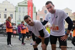 třeboňští maratónci