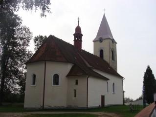 Lutová - kostel Všech svatých