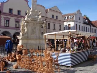 trhy v Třeboni