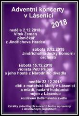 Adventní koncerty 2018