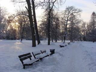 Zimní Třeboň